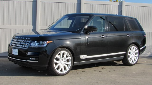 Pre-Owned 2016 Land Rover Range Rover 5.0L V8 Supercharged Autobiography