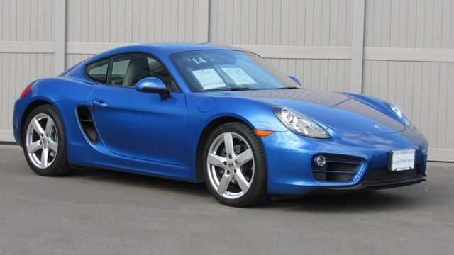 Pre-Owned 2014 Porsche Cayman Base